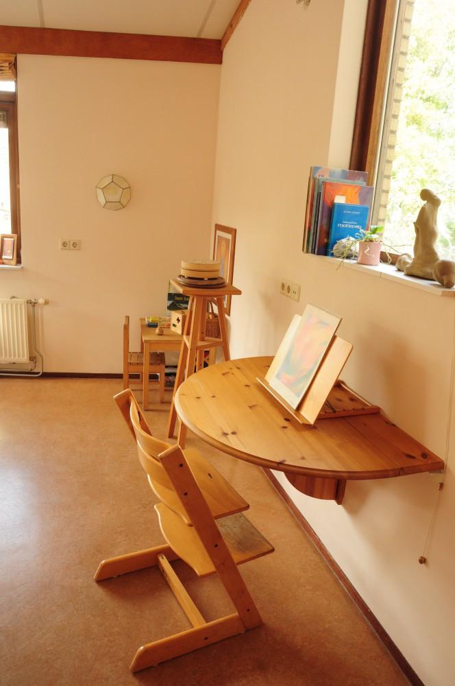 Werkruimte voor kunstzinige therapie